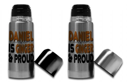 350ml - Personalised Ginger & Proud